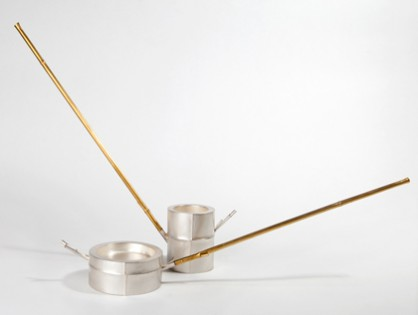 Chien-Wei Chang, Bamboo Watering, ladles
