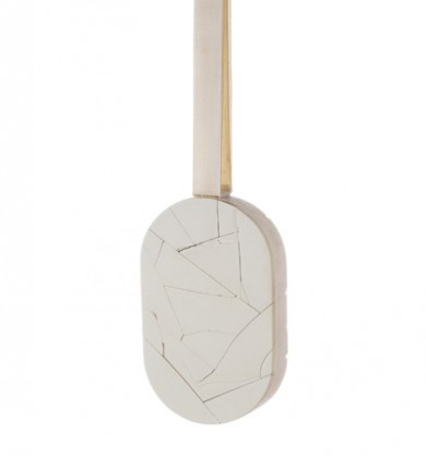 Patricia Domingues, pendant, 2014, reconstructed ivory